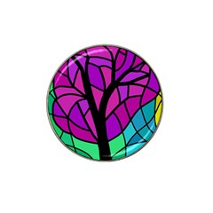 Decorative Tree 2 Hat Clip Ball Marker (10 Pack) by Valentinaart