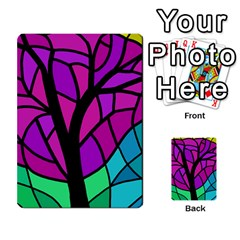 Decorative Tree 2 Multi Purpose Cards (rectangle)  by Valentinaart