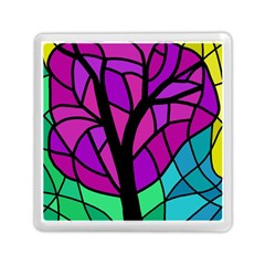 Decorative Tree 2 Memory Card Reader (square)  by Valentinaart