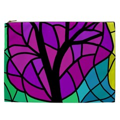 Decorative Tree 2 Cosmetic Bag (xxl)  by Valentinaart