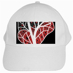 Decorative Tree 3 White Cap by Valentinaart