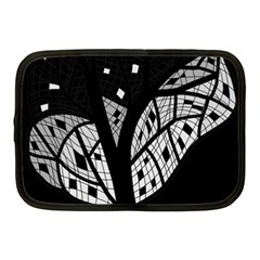 Black And White Tree Netbook Case (medium)