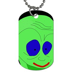 Alien By Moma Dog Tag (two Sides) by Valentinaart