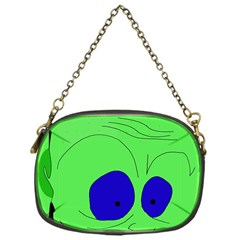 Alien By Moma Chain Purses (one Side)  by Valentinaart
