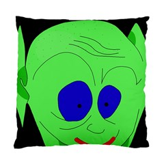 Alien By Moma Standard Cushion Case (one Side) by Valentinaart