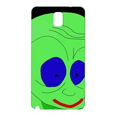 Alien By Moma Samsung Galaxy Note 3 N9005 Hardshell Back Case by Valentinaart