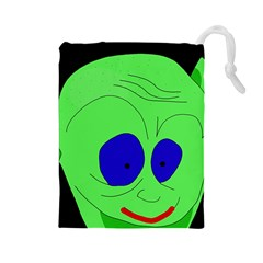 Alien By Moma Drawstring Pouches (large)