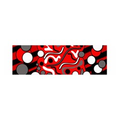Red Mess Satin Scarf (oblong)