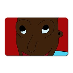 Happy Boy Magnet (rectangular) by Valentinaart