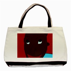 Happy Boy Basic Tote Bag by Valentinaart