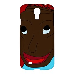 Happy Boy Samsung Galaxy S4 I9500/i9505 Hardshell Case by Valentinaart