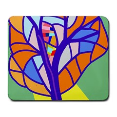 Decorative Tree 4 Large Mousepads
