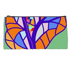 Decorative Tree 4 Pencil Cases by Valentinaart