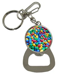 Funny Colorful Red Yellow Green Blue Kids Play Balls Bottle Opener Key Chains by yoursparklingshop