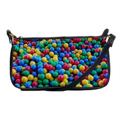 Funny Colorful Red Yellow Green Blue Kids Play Balls Shoulder Clutch Bags by yoursparklingshop