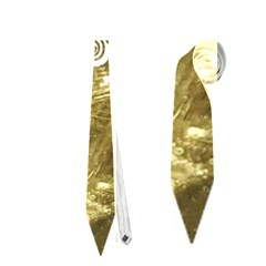 Happy New Year 2017 Gold White Star Neckties (two Side)  by yoursparklingshop