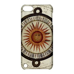 Ancient Aztec Sun Calendar 1790 Vintage Drawing Apple Ipod Touch 5 Hardshell Case With Stand by yoursparklingshop