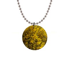 Nature, Yellow Orange Tree Photography Button Necklaces by yoursparklingshop
