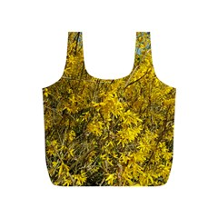 Nature, Yellow Orange Tree Photography Full Print Recycle Bags (s)  by yoursparklingshop