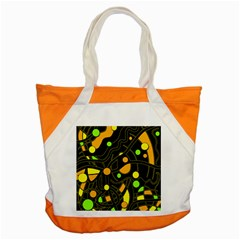 Floating Accent Tote Bag
