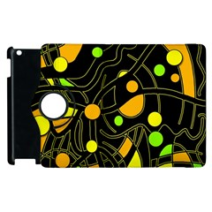 Floating Apple Ipad 2 Flip 360 Case by Valentinaart