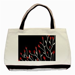 Elegant Tree 2 Basic Tote Bag (two Sides) by Valentinaart