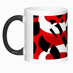 Red Chaos Morph Mugs by Valentinaart