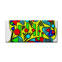 Colorful Chaos Hand Towel by Valentinaart