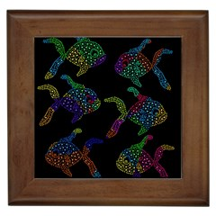 Decorative Fish Framed Tiles by Valentinaart