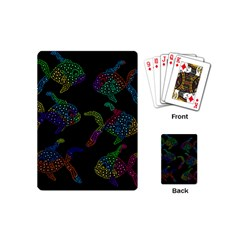Decorative Fish Playing Cards (mini)  by Valentinaart