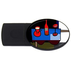 Table Usb Flash Drive Oval (4 Gb)  by Valentinaart