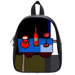 Table School Bags (small)  by Valentinaart