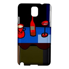 Table Samsung Galaxy Note 3 N9005 Hardshell Case by Valentinaart