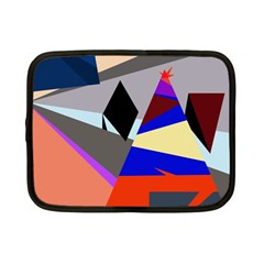 Geometrical Abstract Design Netbook Case (small)