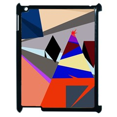 Geometrical Abstract Design Apple Ipad 2 Case (black)