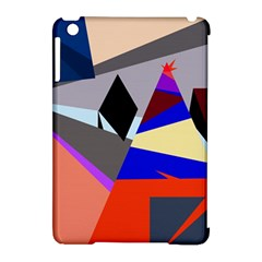 Geometrical Abstract Design Apple Ipad Mini Hardshell Case (compatible With Smart Cover) by Valentinaart