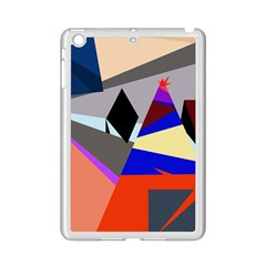 Geometrical Abstract Design Ipad Mini 2 Enamel Coated Cases by Valentinaart