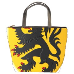 Flanders Coat Of Arms  Bucket Bags