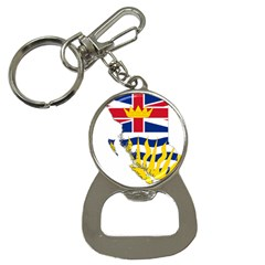 Flag Map Of British Columbia Bottle Opener Key Chains by abbeyz71