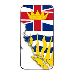 Flag Map Of British Columbia Apple Iphone 4/4s Seamless Case (black) by abbeyz71