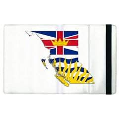 Flag Map Of British Columbia Apple Ipad 2 Flip Case by abbeyz71