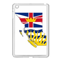 Flag Map Of British Columbia Apple Ipad Mini Case (white) by abbeyz71