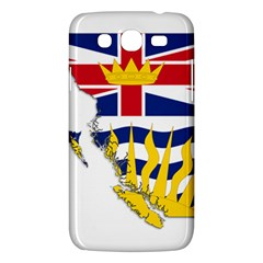Flag Map Of British Columbia Samsung Galaxy Mega 5 8 I9152 Hardshell Case  by abbeyz71