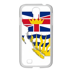 Flag Map Of British Columbia Samsung Galaxy S4 I9500/ I9505 Case (white) by abbeyz71