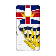 Flag Map Of British Columbia Samsung Galaxy S5 Hardshell Case  by abbeyz71