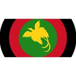 Roundel of Papua New Guinea Air Operations Element BEST SIS 3D Greeting Card (8x4) Back