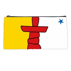 Flag Of Nunavut  Pencil Cases by abbeyz71