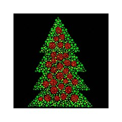 Sparkling Christmas Tree Acrylic Tangram Puzzle (6  X 6 ) by Valentinaart