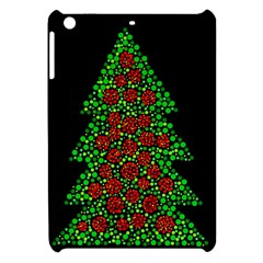 Sparkling Christmas Tree Apple Ipad Mini Hardshell Case by Valentinaart