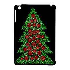 Sparkling Christmas Tree Apple Ipad Mini Hardshell Case (compatible With Smart Cover) by Valentinaart